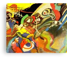 Colourful Kandinsky Abstract Painting Canvas Print