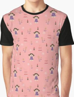 Pinky Doll Graphic T-Shirt