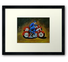 Highway Patrol Framed Print
