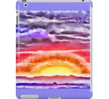 Abstract Sunset iPad Case/Skin