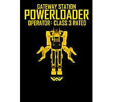 Powerloader - Class 3 Rated Photographic Print