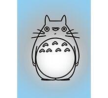 Totoro shadow Photographic Print