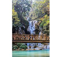 Kuang Si Waterfall Photographic Print