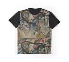 Abstract Kandinsky Painting Graphic T-Shirt
