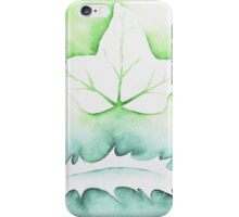 'Holly & Ivy' Christmas design - Aquamarkers. iPhone Case/Skin