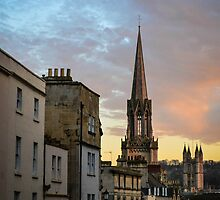 Sunset in Bath by BonnieSanan