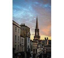 Sunset in Bath Photographic Print