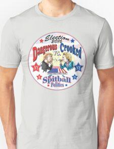 Trump VS Hillary Spitball Politics 2016 Unisex T-Shirt