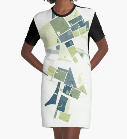 The Lower Field Graphic T-Shirt Dress