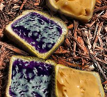 Peanut Butter and Jelly on Mulch by GolemAura