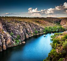 Into The Katherine Gorge by Sandra Anderson