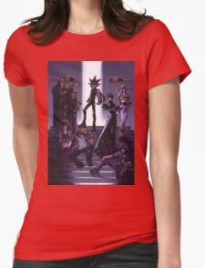 Yugioh - Group Womens Fitted T-Shirt
