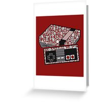 NEStolgia Greeting Card