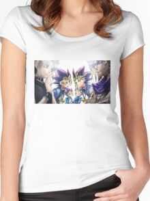 Yu-Gi-Oh! Generation Women's Fitted Scoop T-Shirt