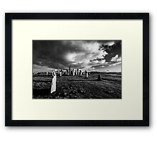Callanish Isle of Lewis Framed Print