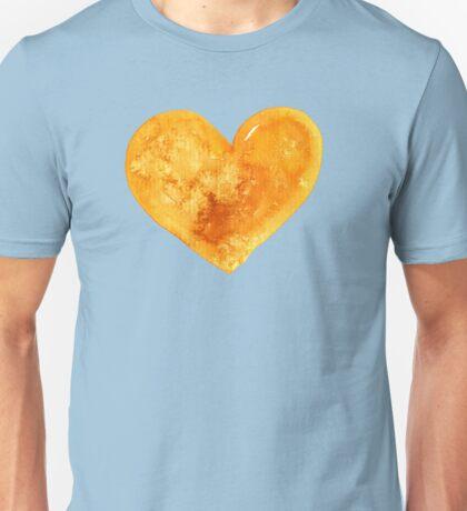 Yellow Heart Unisex T-Shirt