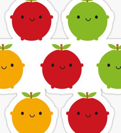 Cutie Fruity Sticker