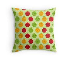 Cutie Fruity Throw Pillow