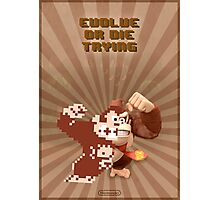 Donkey Kong Evolve of Die Trying Photographic Print