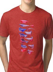 Spine Petals Tri-blend T-Shirt
