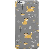 Foxy Grey iPhone Case/Skin