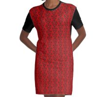 Worship Who you Like Graphic T-Shirt Dress