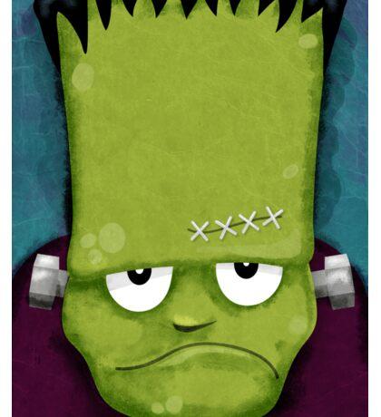 Grumpy Frankenstein Sticker