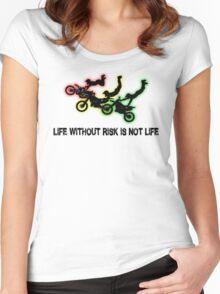 Motocross Women's Fitted Scoop T-Shirt