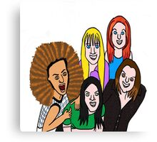 Spice Girls Canvas Print