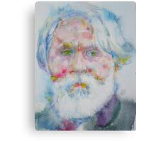 IVAN TURGENEV - watercolor portrait Canvas Print