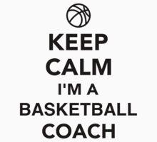 Keep calm I'm a basketball coach Kids Tee