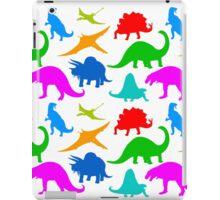 Dinosaur Multi-coloured Pattern iPad Case/Skin