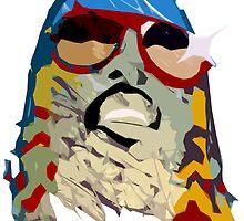 Stevie Wonder by PhilFryArt