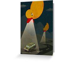 UFO serial Greeting Card