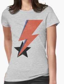 Aladdin Star Bowie Womens Fitted T-Shirt