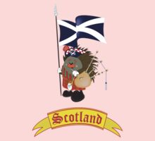 Greetings from Scotland Kids Clothes