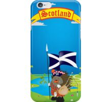 Greetings from Scotland iPhone Case/Skin