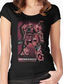 Zaku Char Women's Fitted Scoop T-Shirt