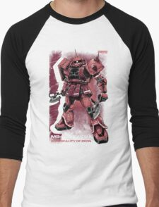 Zaku Char Men's Baseball ¾ T-Shirt