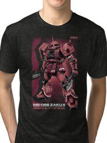 Zaku Char Tri-blend T-Shirt