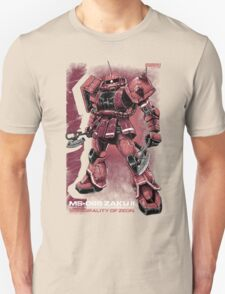 Zaku Char Unisex T-Shirt