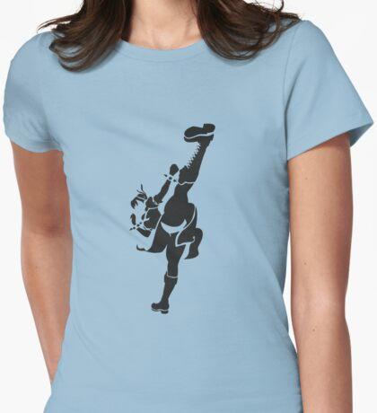 Chun Li Womens Fitted T-Shirt