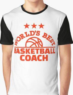 World's best basketball coach Graphic T-Shirt