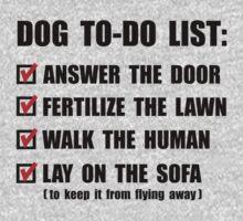 Dog To Do List One Piece - Short Sleeve