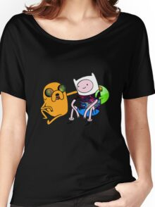 Adventure Time Jack and Finn  Women's Relaxed Fit T-Shirt