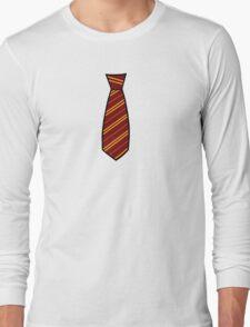 Gryffindor-Tie Long Sleeve T-Shirt