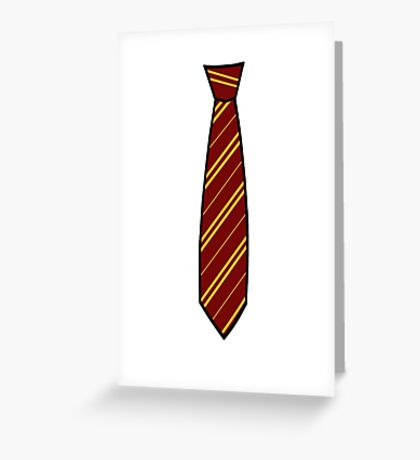 Potter-Tie Greeting Card