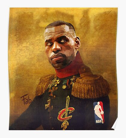 The King who became Cavalier Poster