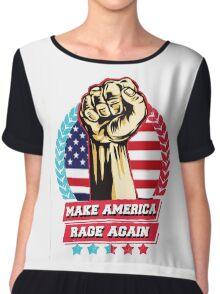 make america rage again Chiffon Top