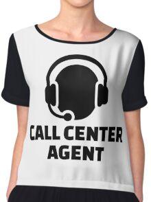 Call center agent Chiffon Top